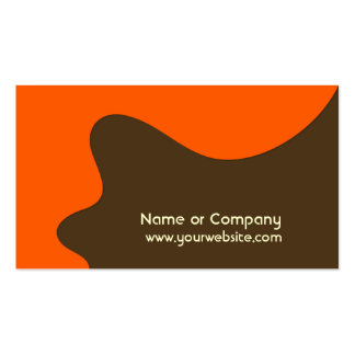 Retro Modern Business Networking Card Business Card Template