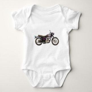 Retro Motorcycle Baby Bodysuit