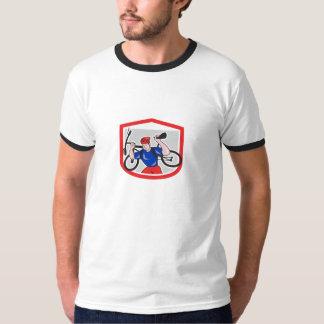 Retro Mountain Biker Tee Shirts