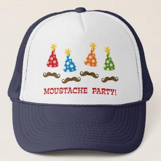 Retro Moustache Party Trucker Hat
