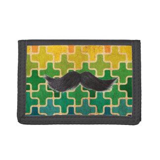 Retro Moustache Wallet