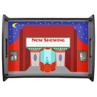 Retro Movie Theater Serving Tray