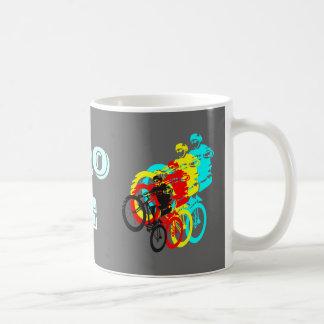 Retro MTB rider Basic White Mug