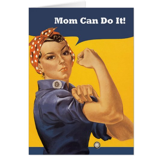 Retro Mum Can Do It Mother's Day Card