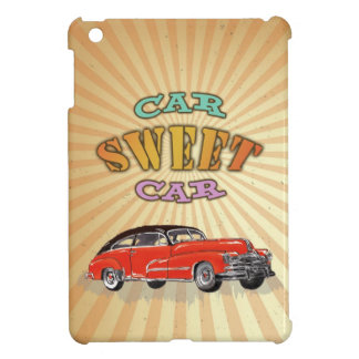 Retro Muscle Car Sweet Car with Vintage design | iPad Mini Cases