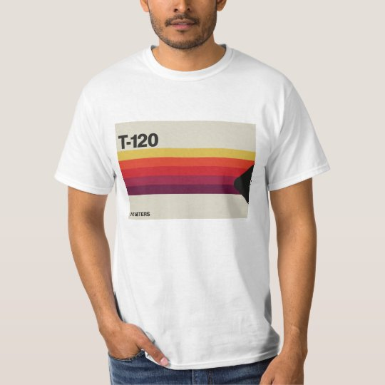 Retro music and video cassette tape graphic T-Shirt