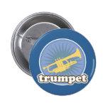 Retro Music Attitude Trumpet Gift Pin