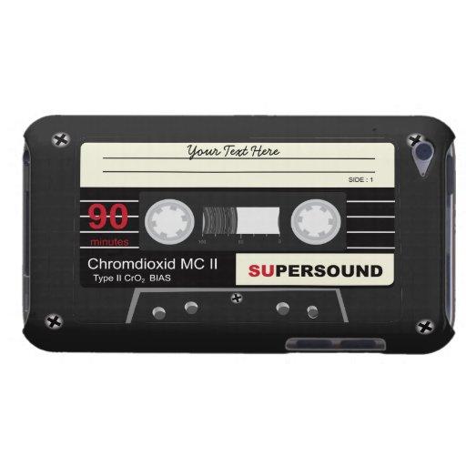 Retro Music Audio Cassette MixTape iPod Case Case-Mate iPod Touch Case
