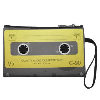 Retro Music Cassette Tape mini clutch