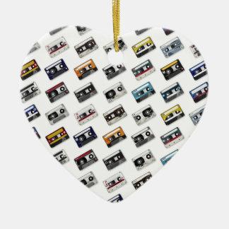 Retro Music Cassette Tapes Christmas Tree Ornament