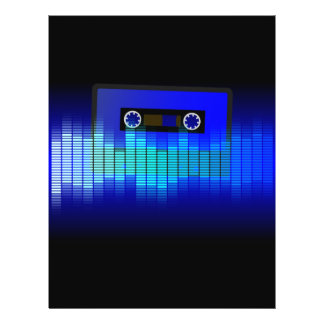 Retro Music Flyer Design