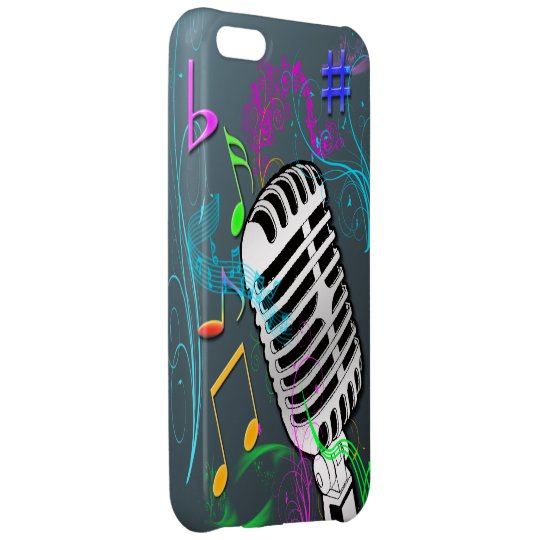 Retro Music iPhone 5C Barely There Case Case