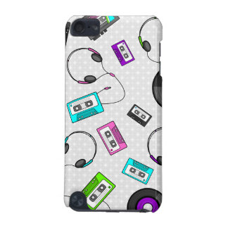 Retro Music Pattern iPod Touch 5G Covers