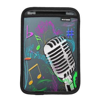 Retro Music Rickshaw iPad Mini Sleeve