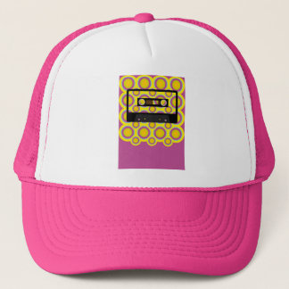Retro Music Trucker Hat