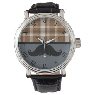 Retro Mustache Moustache Watch