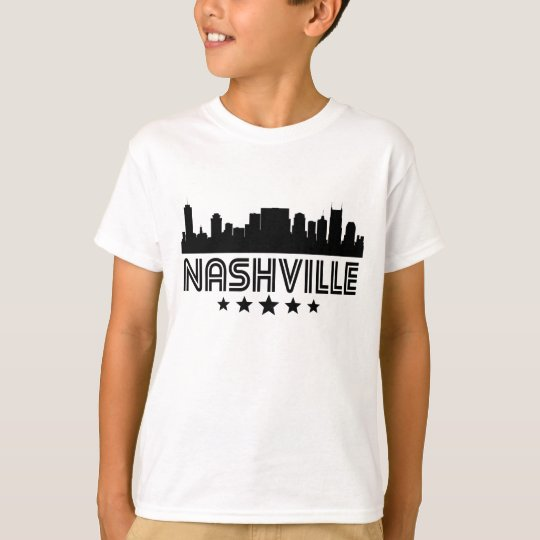 Retro Nashville Skyline T-Shirt