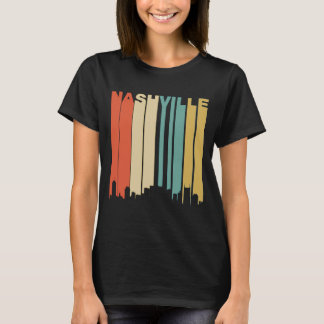 Retro Nashville Skyline T-Shirt