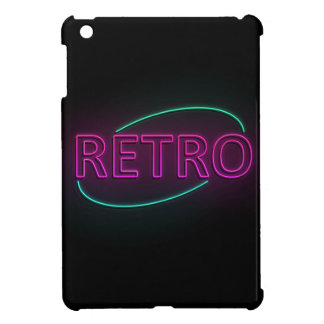 Retro neon. iPad mini cover