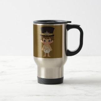 Retro New Years Baby New Year Mug