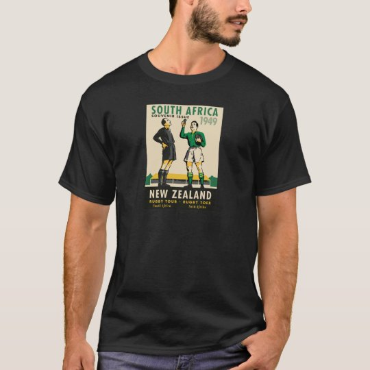 Retro New Zealand SA Rugby Tour T-Shirt