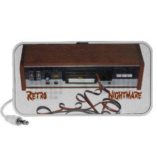 Retro Nightmare Doodle Speaker