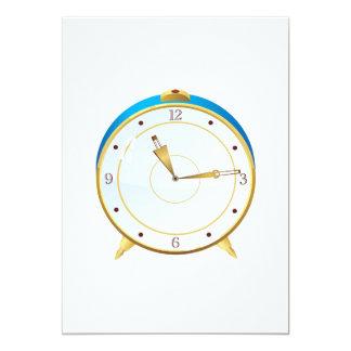 Retro Nightstand Clock Invitations