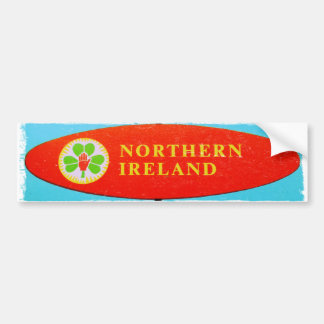 Retro Northern Ireland bumber sticker