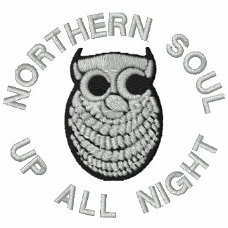 Retro Northern Soul Embroidered Ladies t-shirt