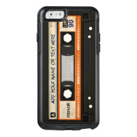 Retro Old Fashioned 80s Mixtape Audio Cassette
