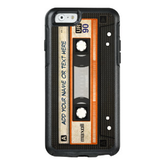Retro Old Fashioned 80s Mixtape Audio Cassette OtterBox iPhone 6/6s Case