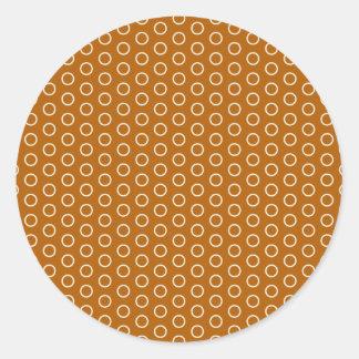 retro oldi tupfen kreise punkte 70 vintage muster runde sticker