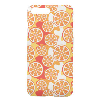 Retro Orange Citrus Pattern iPhone 8 Plus/7 Plus Case