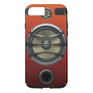 Retro Orange Speaker Look iPhone 8/7 Case
