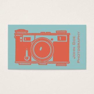 Retro Orange Vintage Film Camera Photography