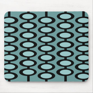 Retro Orb Pattern - mousepad