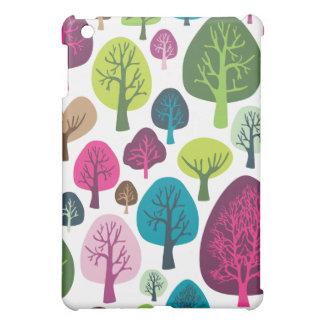 Retro organic tree plant pattern ipad case