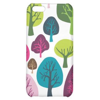 Retro organic tree plant pattern ipad case case for iPhone 5C