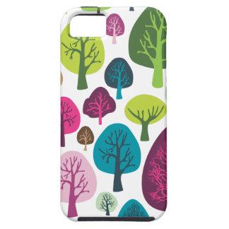 Retro organic tree plant pattern iphone case iPhone 5 cases