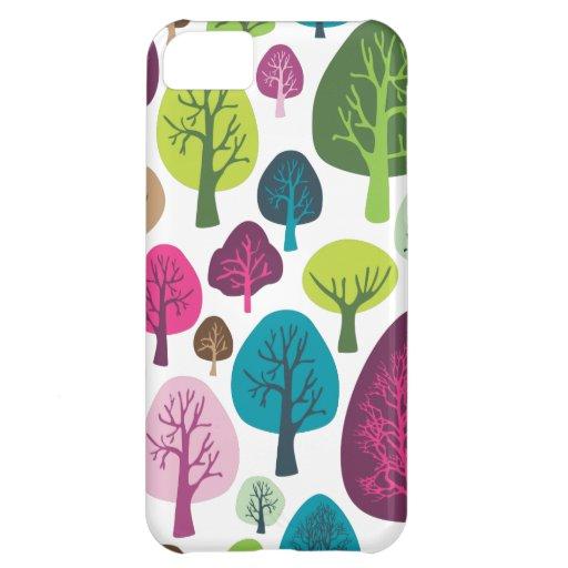 Retro organic tree plant pattern iphone case iPhone 5C cases
