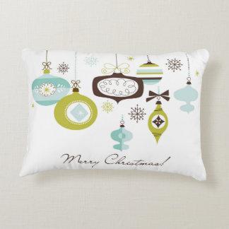 Retro Ornaments, Merry Christmas Decorative Cushion