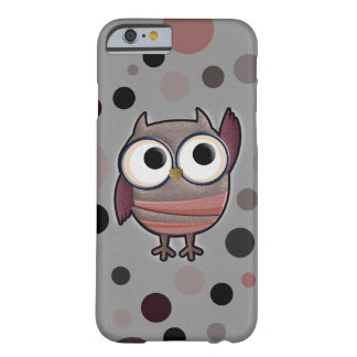 Retro Owl Barely There iPhone 6 Case
