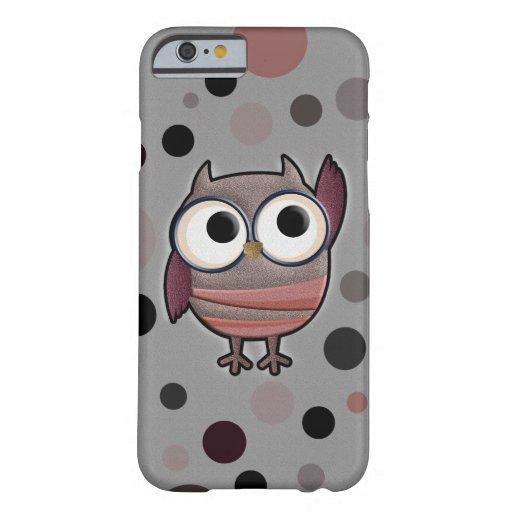 Retro Owl iPhone 6 Case
