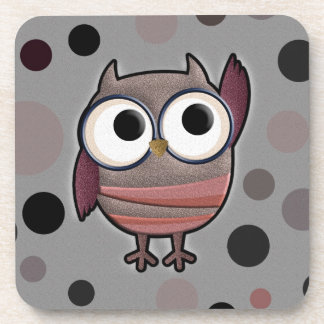 Retro Owl Coaster