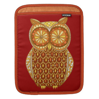Retro Owl iPad Sleeve
