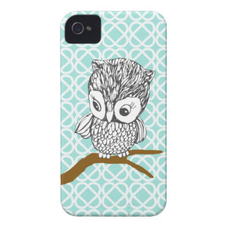 Retro Owl iPhone 4/4S Case