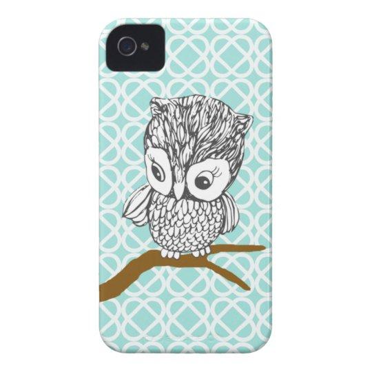 Retro Owl iPhone 4/4S Case