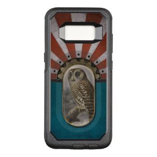 Retro Owl. OtterBox Commuter Samsung Galaxy S8 Case