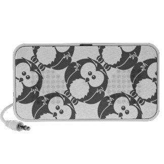 Retro Owl Notebook Speakers