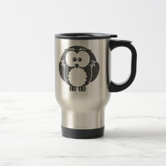 Retro Owl Travel Mug
